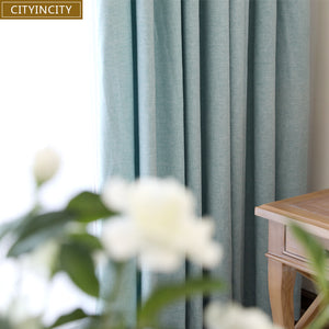 CITYINCITY Solid Plain Curtain - Paruse