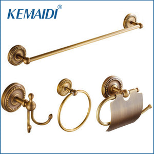 KEMAIDI Antique Brass Bathroom Accessories. - Paruse