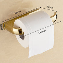 FZ Series Golden Polished Thicker Bathroom accessories. - Paruse