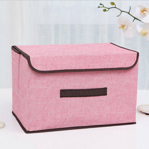 HHYUKIMI Brand Have a lid Multifunction Foldable Covered Storage Box - Paruse