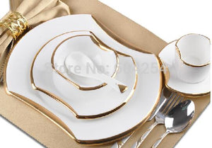 6-piece Western dinnerware set. - Paruse