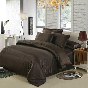 100% Mulberry silk bedding set.