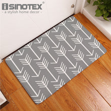 Nordic Arrow Printed Floor Mat - Paruse