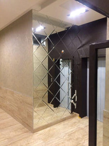 Luxury Beveled Glass Mirror for Wall - Paruse
