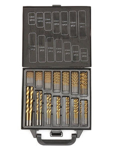 Milda Iron Box packing 99PCS HSS Twist Drill Bits. - Paruse