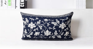 Classical Chinese Blue  and White Decorative Pillow Cover - Paruse