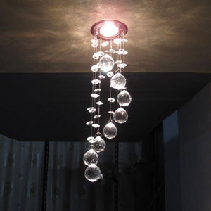 Modern high quality led crystal Ceiling lamps