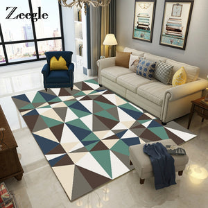 Zeegle Nordic Style Carpets For Living Room - Paruse