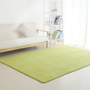 Solid color Carpets for Living Room - Paruse