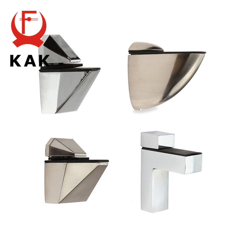 KAK Zinc Alloy Adjustable Holder For Glass Shelves - Paruse