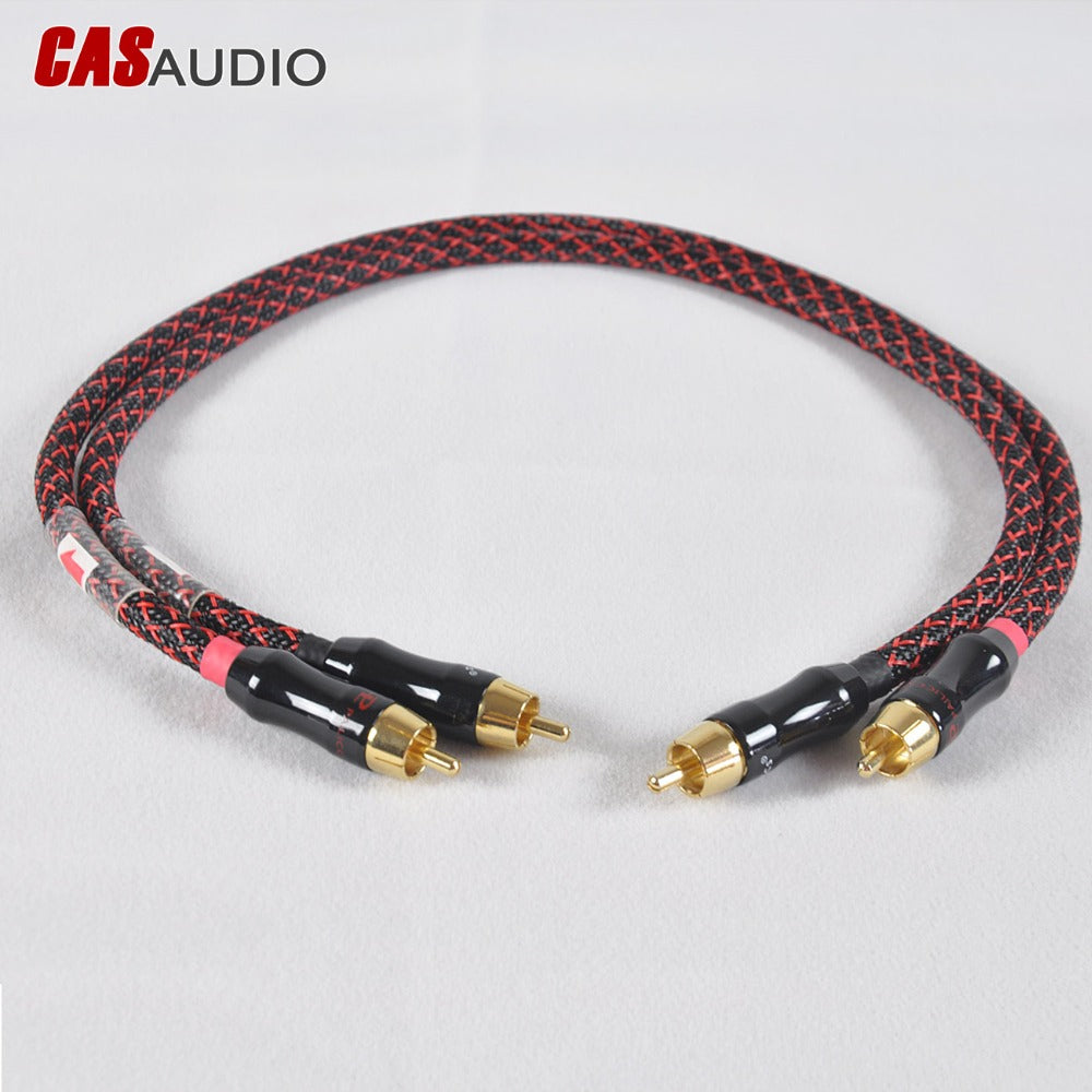 CAS AUDIO RCA Intercontact Cable - Paruse
