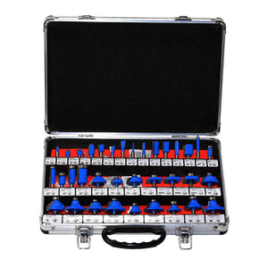 35 PCS 1/4 Inch Shank Carbide Router Bit Set - Paruse