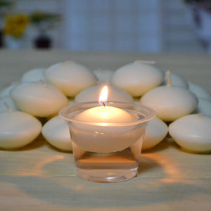 10pcs/set Romantic Round Water Floating Candle