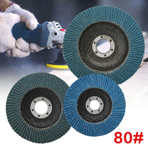 1 Piece 80 Grit Metal Flap Sanding Disc Wheel