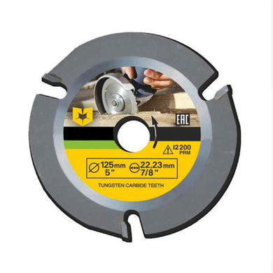 ASCENDAS 125mm 3T Circular Saw Blade Multitool Grinder Saw Disc