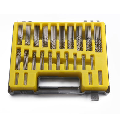 150pcs Mini Power Rotary Precision HSS Micro Twist Drill Bit Set Auger 0.4-3.2mm