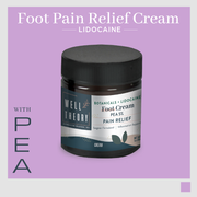 Foot Pain Relief Cream with Lidocaine