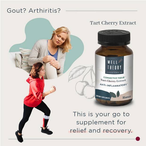 Tart Cherry Extract - Inflammation & Muscle Recovery