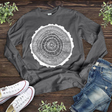 Load image into Gallery viewer, Tree Ring Long Sleeve Shirt