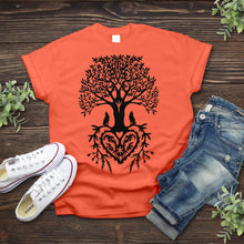 Load image into Gallery viewer, Tree of Life With Heart Tee