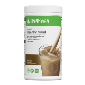 Formula 1 Nutritional Shake Meal - Cafe' Latte - 550 g - Nutrition-Bodycare.com