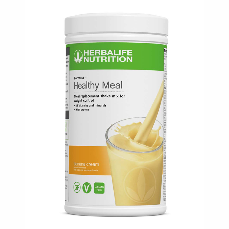 Formula 1 Nutritional Shake Meal - Banana Cream- 550 g - Nutrition-Bodycare.com