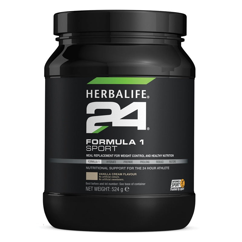 Formula 1 Sport Healthy Meal for Athletes Vanilla Cream 524 g - Nutrition-Bodycare.com