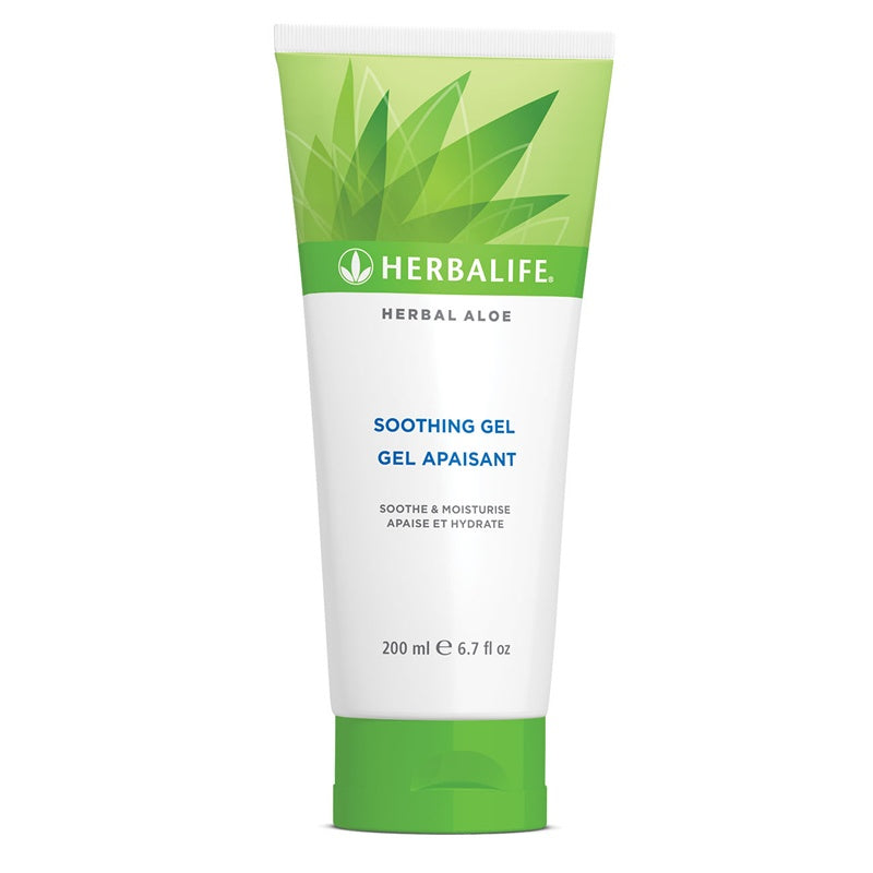 Herbal Aloe Soothing Gel 200 ml - Nutrition-Bodycare.com