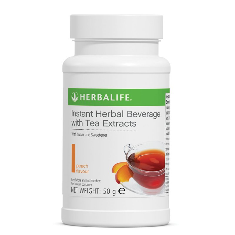 Instant Herbal Beverage - Peach 50 mg - Nutrition-Bodycare.com