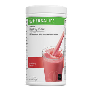 Formula 1 Nutritional Shake Meal - Strawberry - 550 g - Nutrition-Bodycare.com