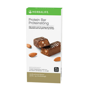 Protein Bars Vanilla Almond 14 bars per box - Nutrition-Bodycare.com