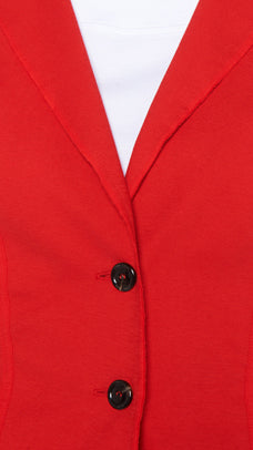 Cotton Blazer-Blazer-Jenny's Boutique