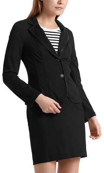Sporty Blazer in 3D Mesh-Blazer-Jenny's Boutique