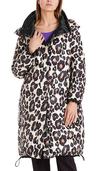 Reversible Leopard Print Coat-Coats-Jenny's Boutique