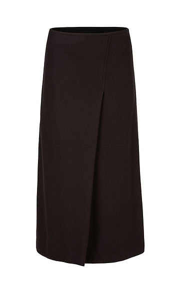 Wool Midi Skirt-Skirt-Jenny's Boutique