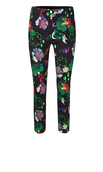 Print Pants in Scuba Fabric-Trousers-Jenny's Boutique