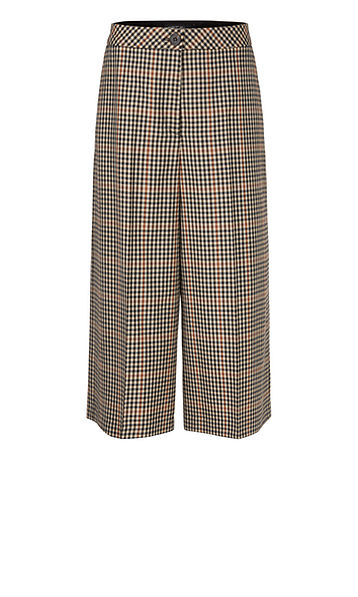 Wool Tweed Culottes-Trousers-Jenny's Boutique