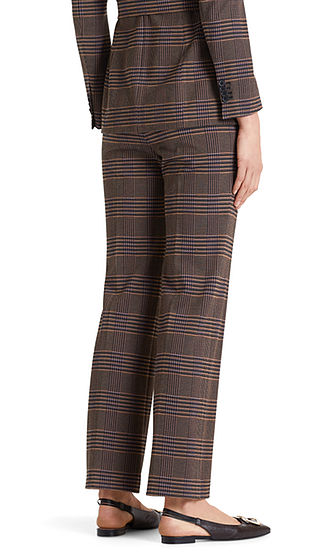Straight Leg Tweed Pants-Trousers-Jenny's Boutique
