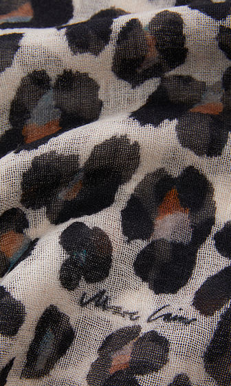 Animal Print in Wool-Scarf-Jenny's Boutique