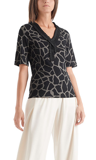Top in Rhino Print-Top-Jenny's Boutique