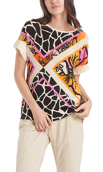 Abstract Print Blouse-Blouse-Jenny's Boutique
