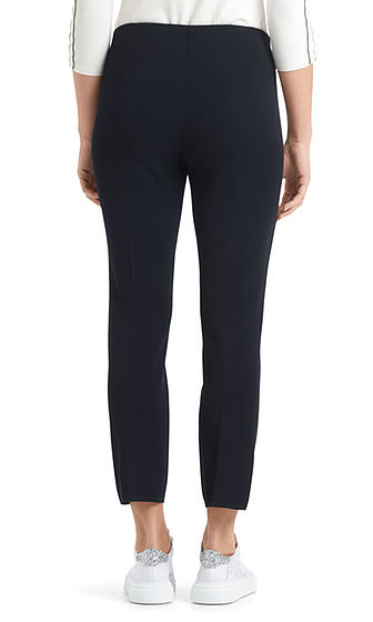 Slim Pants with Front Seam-Trousers-Jenny's Boutique