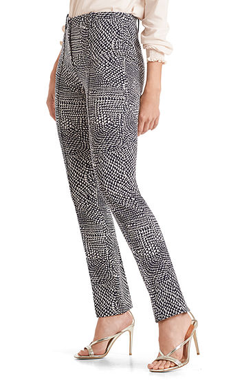 Full Length Jersey Pants-Trousers-Jenny's Boutique