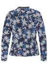 Navy Floral Jacket-Jacket-Jenny's Boutique