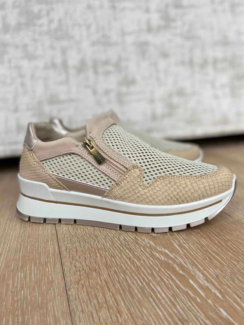 Perforated Trainer with Zip-Trainer-Jenny's Boutique