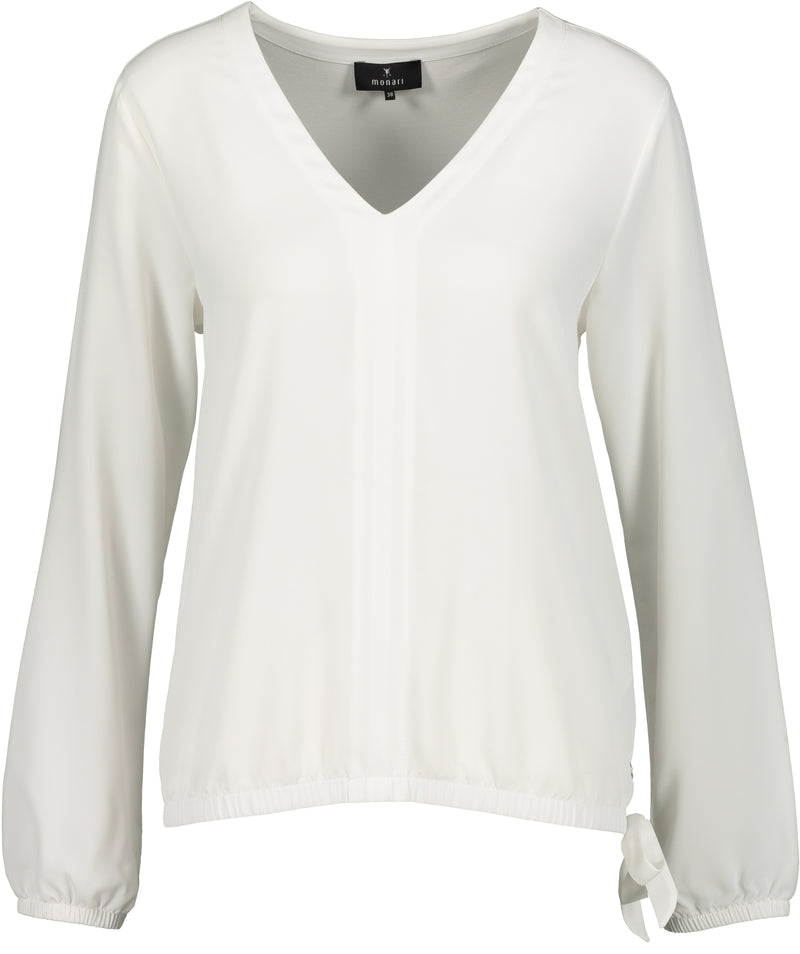 V Neck Blouse-Blouse-Jenny's Boutique