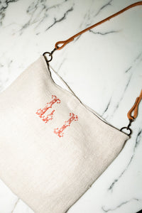 Vintage  French Grain Sack Bag