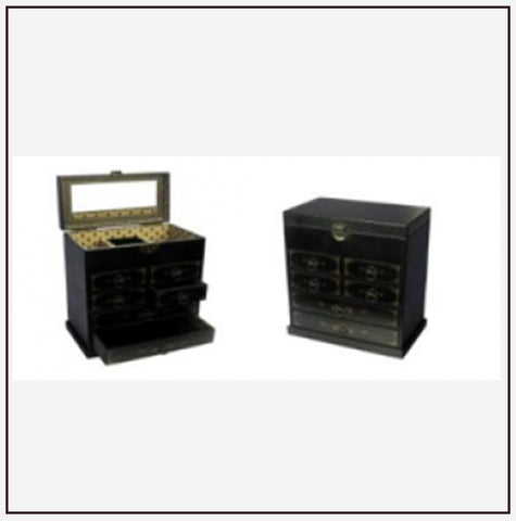 9761 Jewelry Box w/ 6 Drawers
