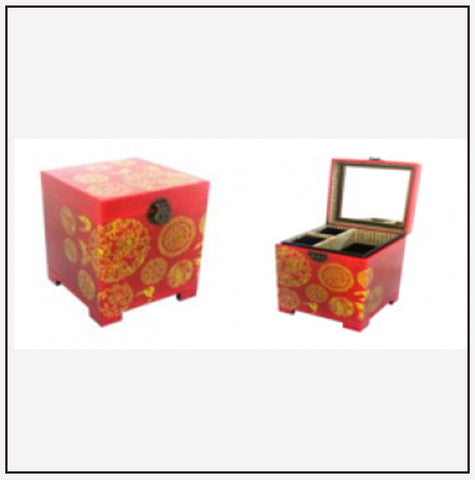 9818 Jewelry Box w/ Ring Tray
