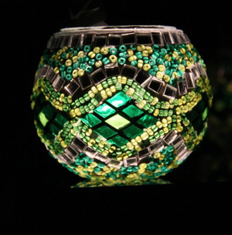 Turkish Mosaic Candle Holder (7cm) H